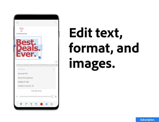 Adobe Acrobat Reader: PDF Viewer, Editor & Creator - Ảnh chụp màn hình 5