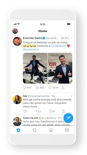 Twitter - captura de ecrã 3