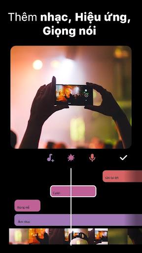 InShot - chỉnh sửa video - Ảnh chụp màn hình 3