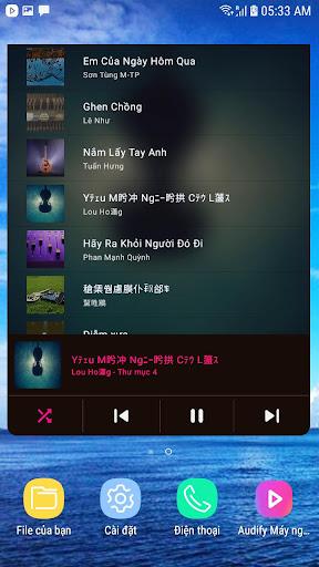 Music Player - Máy nghe nhạc - Ảnh chụp màn hình 4