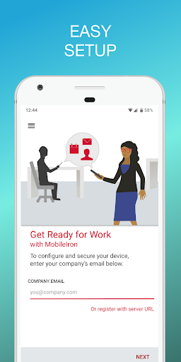 Mobile@Work - captura de ecrã 2