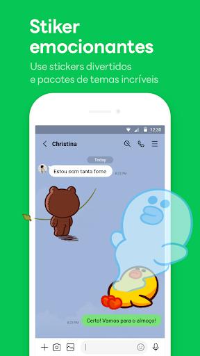 LINE:Chamadas&Mensagens Grátis - captura de ecrã 1