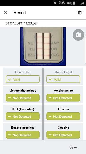 Dräger DrugCheck - captura de ecrã 1
