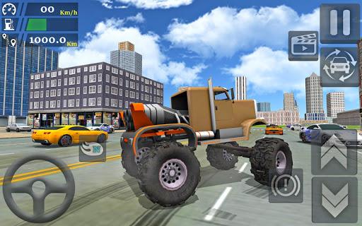 Monster Truck Stunts Driving Simulator - captura de ecrã 4