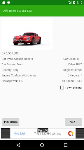 Car Tracker for Forza Horizon 4 - screenshot 2