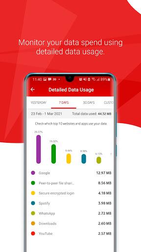 My Vodacom SA - Ảnh chụp màn hình 3