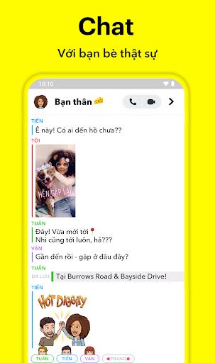 Snapchat - Ảnh chụp màn hình 1