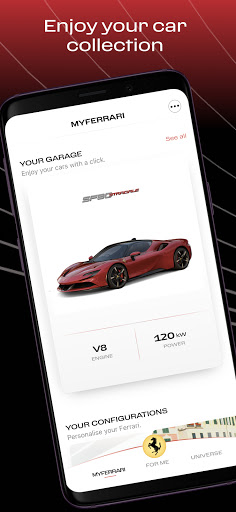 MyFerrari - screenshot 1