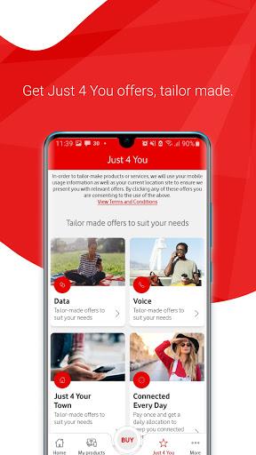 My Vodacom SA - Ảnh chụp màn hình 4