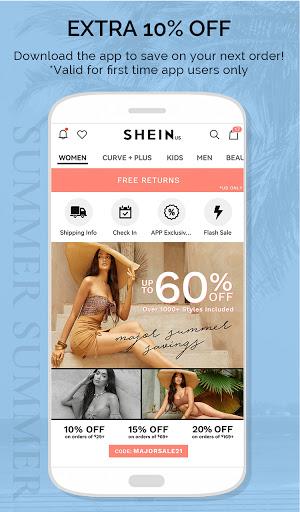 SHEIN - Xu hướng & Thời trang Hot nhất - Ảnh chụp màn hình 4