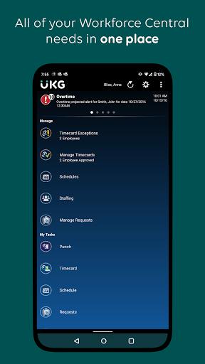 UKG Workforce Central - captura de ecrã 0