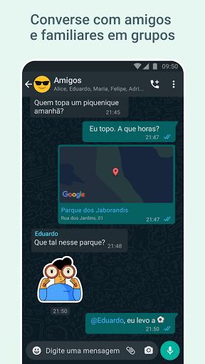 WhatsApp Messenger - captura de ecrã 3