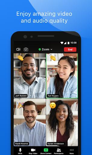 ZOOM Cloud Meetings - Ảnh chụp màn hình 1