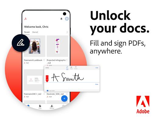 Adobe Acrobat Reader: PDF Viewer, Editor & Creator - Ảnh chụp màn hình 0