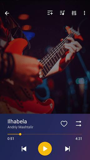 Music Player - MP3 Player, Audio Player - Ảnh chụp màn hình 1