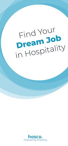 Hosco: Jobs in Hotels, Culinary & Tourism - captura de ecrã 0
