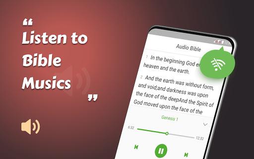 King James Bible (KJV) - Free Bible Verses + Audio - Ảnh chụp màn hình 5