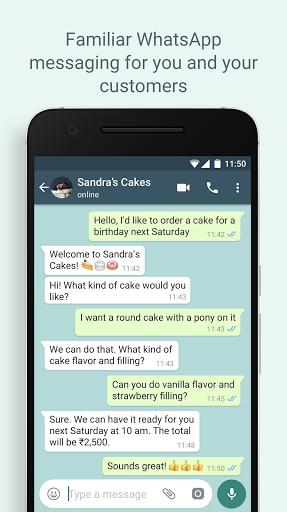 WhatsApp Business - Ảnh chụp màn hình 5