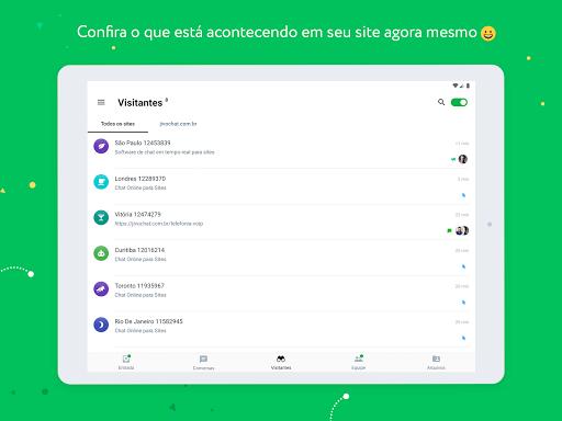 JivoChat - captura de ecrã 9