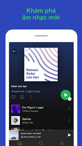 Spotify - Nghe nhạc hay, tìm podcast hữu ích - Ảnh chụp màn hình 6