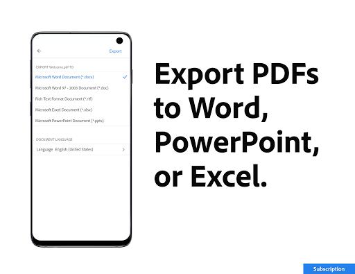Adobe Acrobat Reader: PDF Viewer, Editor & Creator - Ảnh chụp màn hình 6