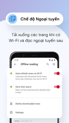 Trình duyệt web Opera Mini - Ảnh chụp màn hình 6