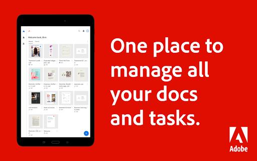 Adobe Acrobat Reader: PDF Viewer, Editor & Creator - Ảnh chụp màn hình 8