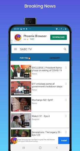 Free SABC Online - Ảnh chụp màn hình 4