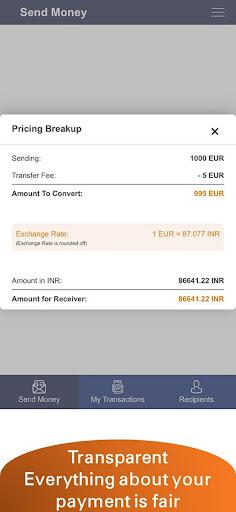 Money2India Europe - screenshot 4