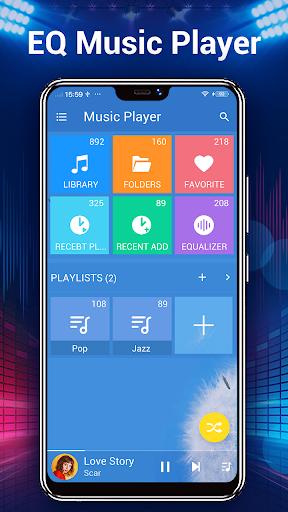 Music Player - Audio Player - Ảnh chụp màn hình 1
