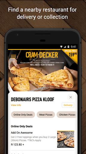 Debonairs Pizza - Ảnh chụp màn hình 1
