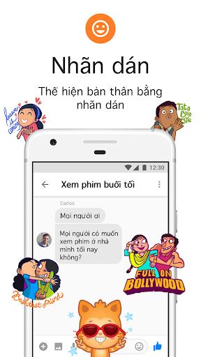 Messenger Lite: Nhắn tin & Gọi điện miễn phí - Ảnh chụp màn hình 4