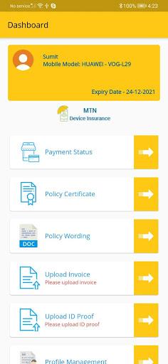 MTN Device Insurance - screenshot 4