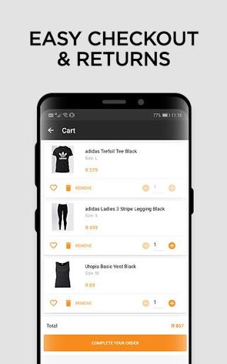 Online Shopping - Fashion - Zando.co.za - Ảnh chụp màn hình 2