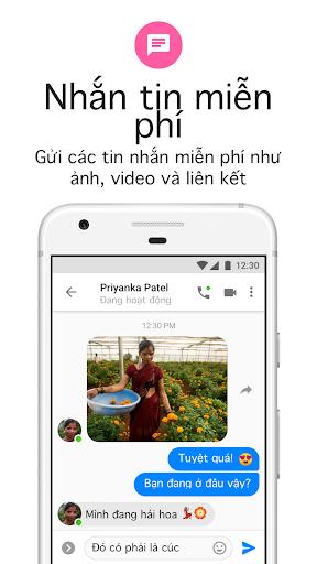Messenger Lite: Nhắn tin & Gọi điện miễn phí - Ảnh chụp màn hình 0