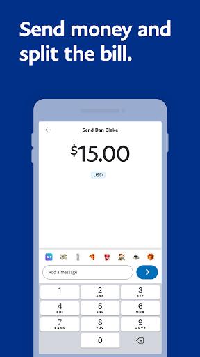 PayPal Mobile Cash: Send and Request Money Fast - Ảnh chụp màn hình 1