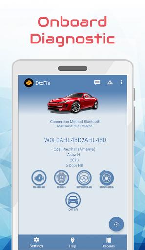 DtcFix - Wifi/Bluetooth Car Fault Code Diagnostic - screenshot 1