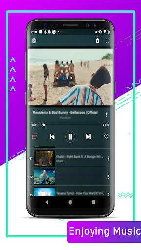 Glow Music - free music player - Ảnh chụp màn hình 0
