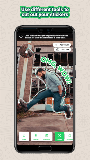 Sticker maker - Ảnh chụp màn hình 3