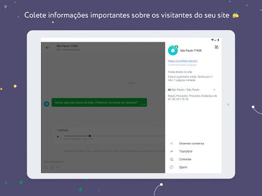 JivoChat - captura de ecrã 8