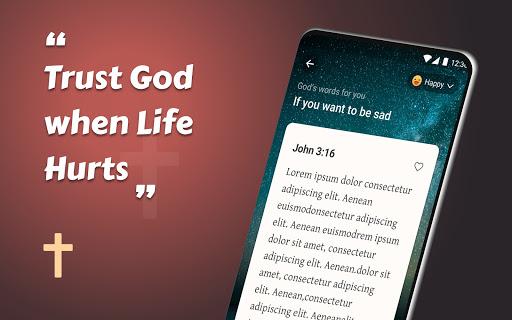 King James Bible (KJV) - Free Bible Verses + Audio - Ảnh chụp màn hình 2