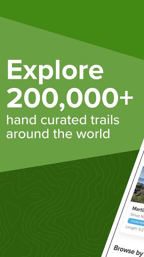 AllTrails: Hiking, Running & Mountain Bike Trails - Ảnh chụp màn hình 0