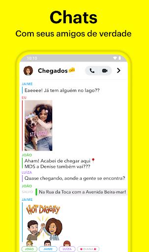 Snapchat - captura de ecrã 1