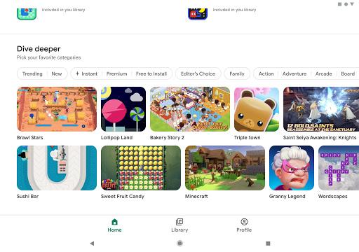 Google Play Trò chơi - Ảnh chụp màn hình 9