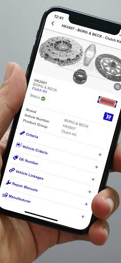 TecDoc Catalogue Mobile - captura de ecrã 1