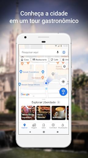 Google Maps - captura de ecrã 2