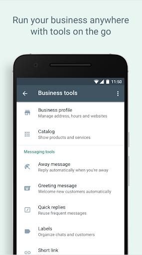 WhatsApp Business - Ảnh chụp màn hình 4