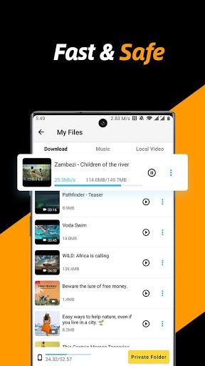 Trình tải xuống video, Tất cả trình tải xuống 2021 - Ảnh chụp màn hình 2