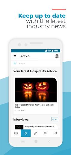 Hosco: Jobs in Hotels, Culinary & Tourism - captura de ecrã 3