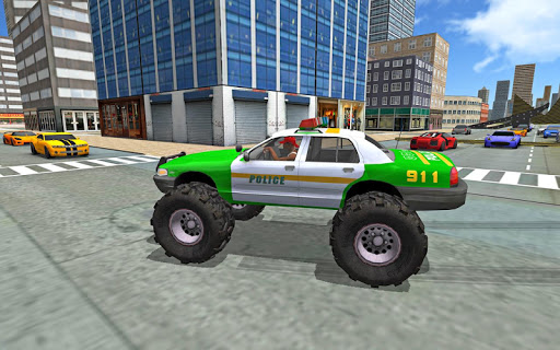 Monster Truck Stunts Driving Simulator - captura de ecrã 7